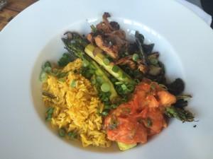 Roasted Vegetable Paella