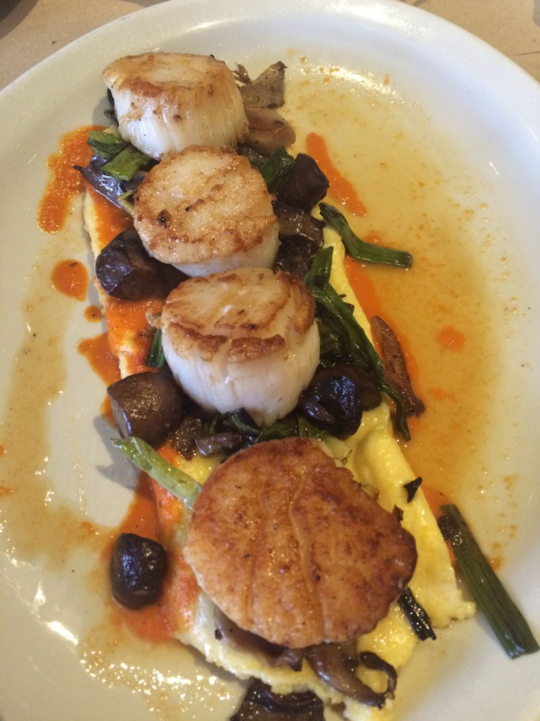 a scallops dish