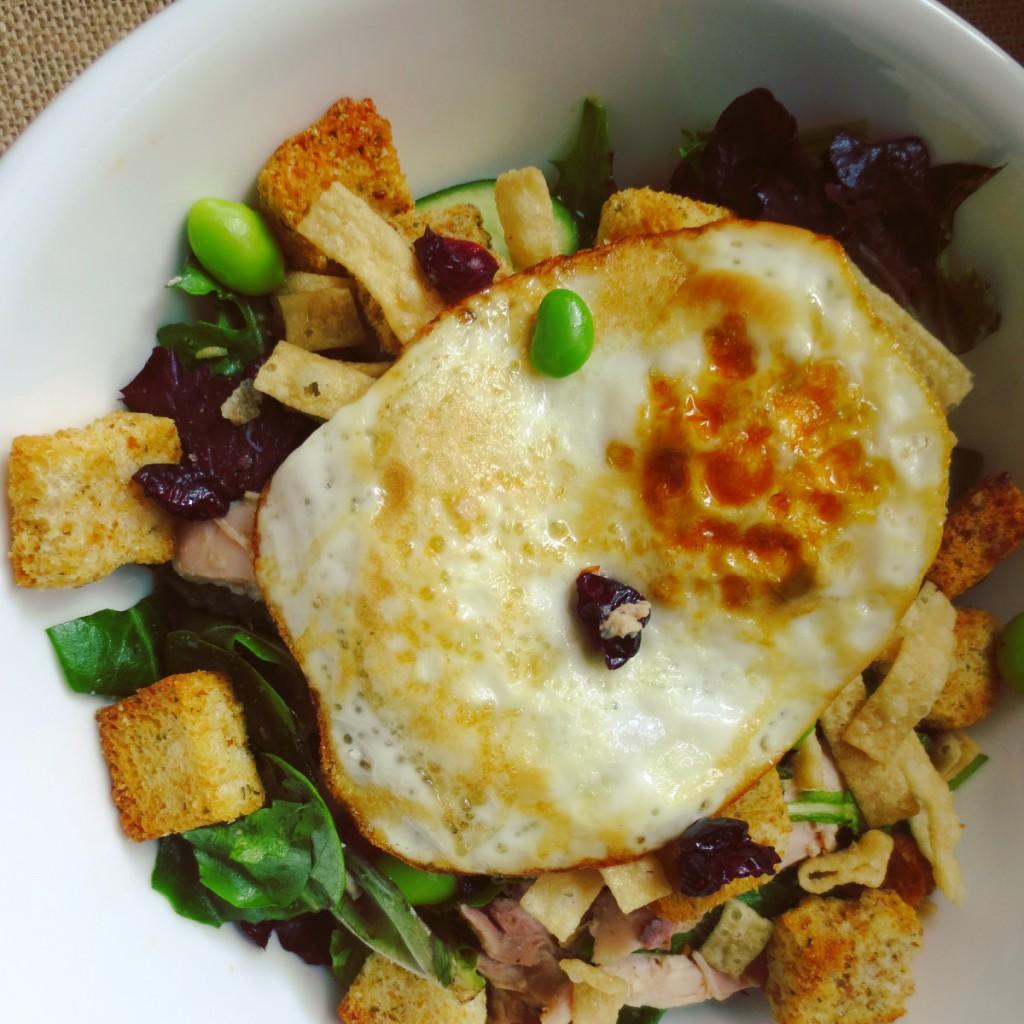a Roasted Chicken & Craisins Salad