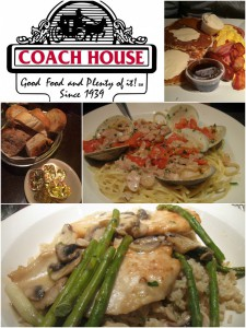 Coachhouse diner dishes