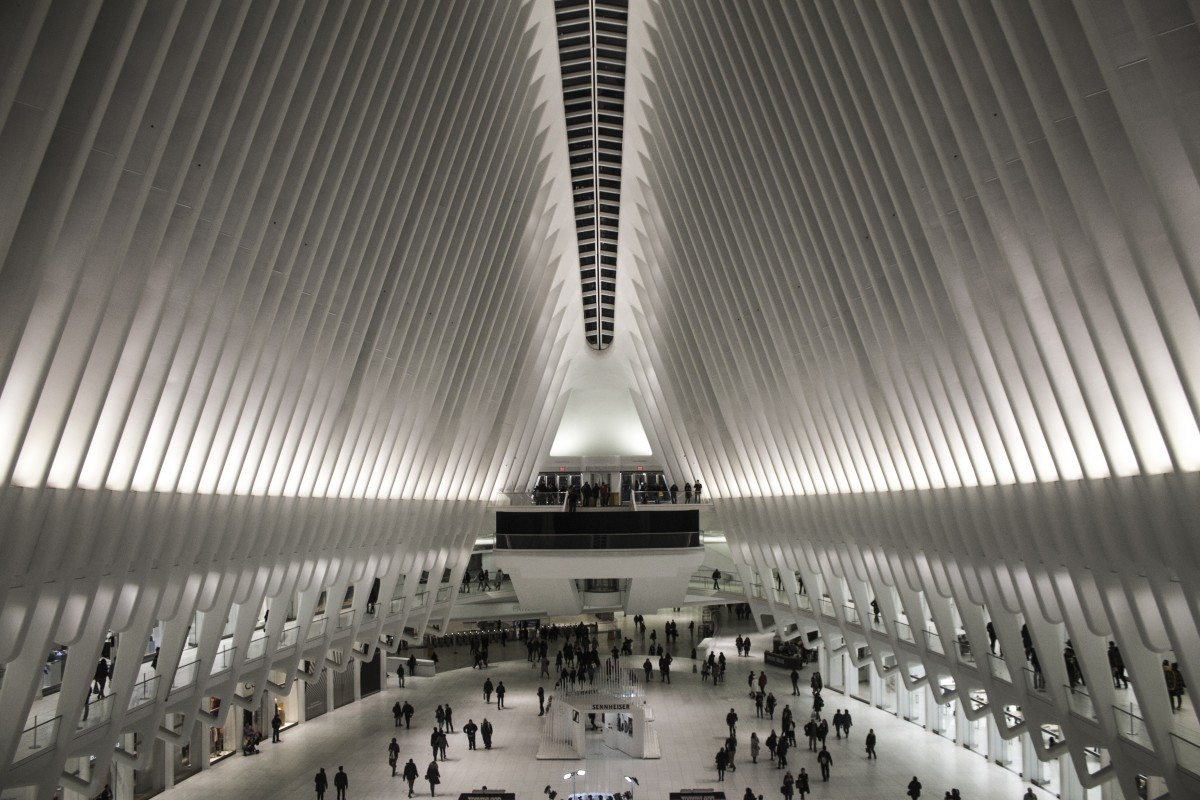 the interior of the Oculus