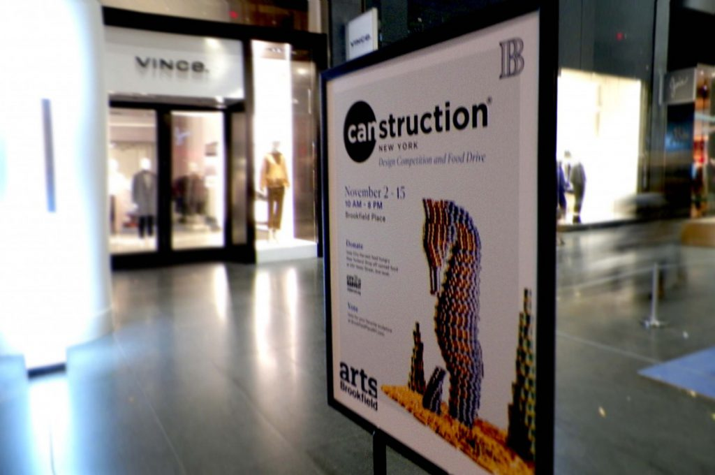 the Canstruction Poster