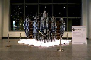 Canstruction Sculpture