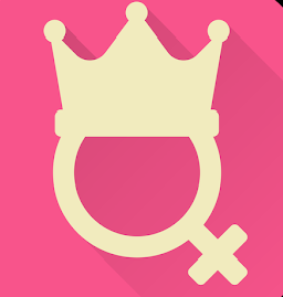 female symbol with crown