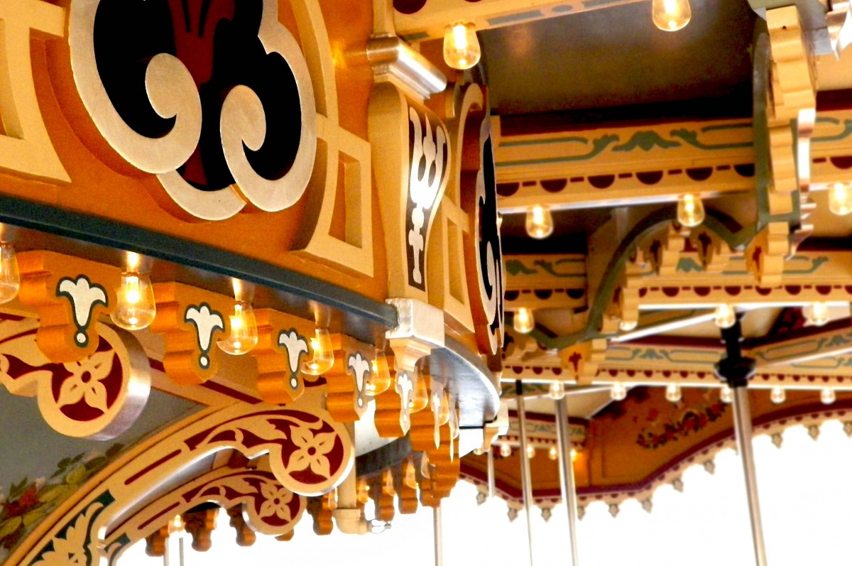 the top of jane's carousel