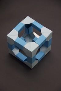"Calvin's ""Geometric Cube"" (Spring 2016)"