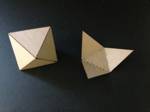 Octahedron and Tetrahedron