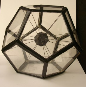 Rafael's Within the Shape Hollow Geometric Form in Plexiglas (Fall 2015)