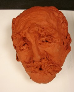 Rafal's Portrait in Clay