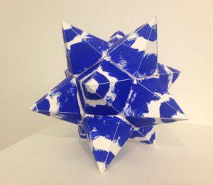 Hollow Paper Geometric Form