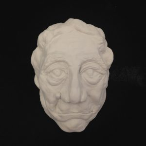 Clay Portrait of Shigeo Fakuda by Yi Mei Spring 2018