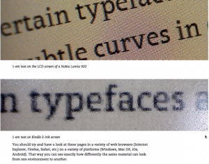 Webinar Screenshot of typeface