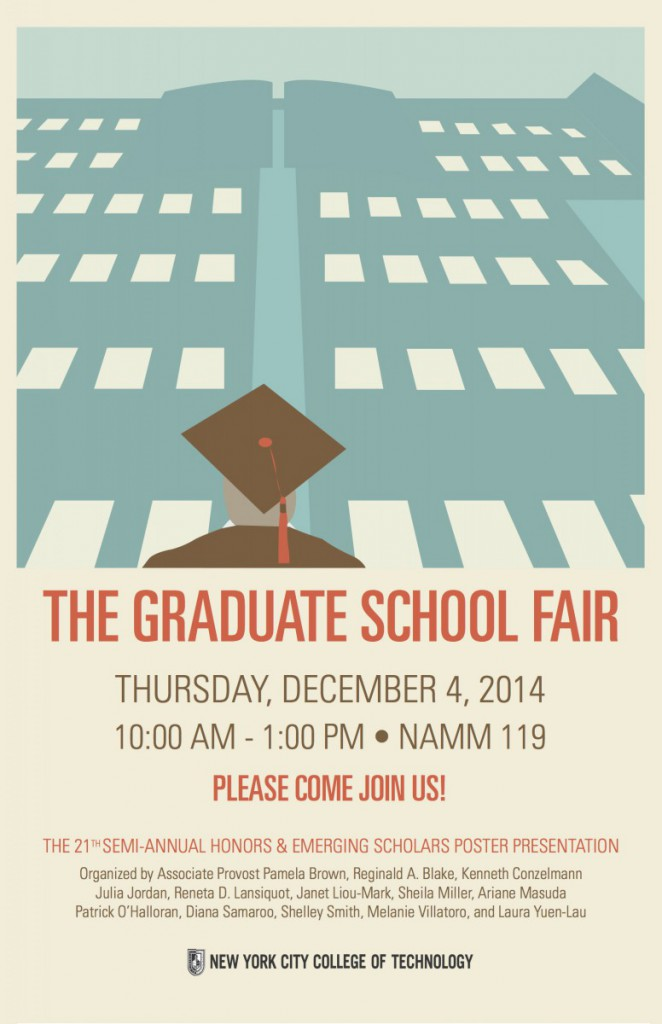 Image: Graduate School Fair F2014 Flyer