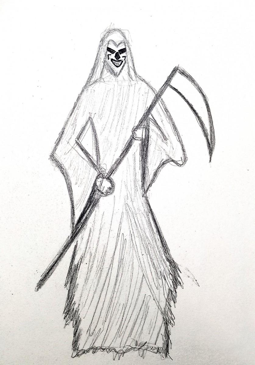 Halloween Drawings! Steven Villa