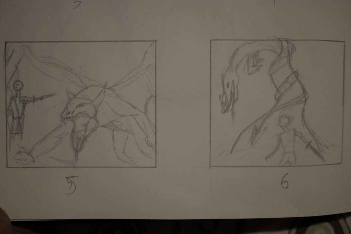 Character Design Course Syllabus : Thumbnails comd illustration sp