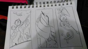 Each concept 1,2,3 respectively