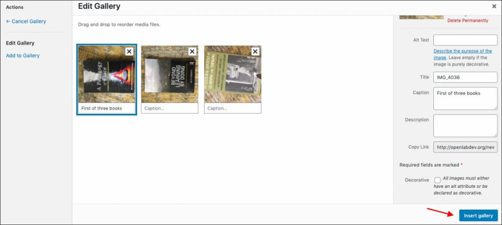 Screenshot of step 4.