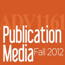 Publication Media – Fall 2012