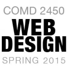 COMD 2450 Web Design 1