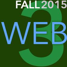 Web 3 – Fall 2015 – COMD 3652-E270
