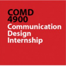 COMD4900 HD97 [92338] Internship in Advertising Graphic Design,  Fall 2015