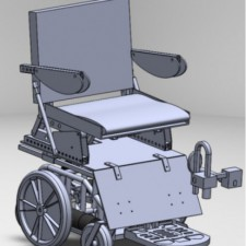 Design of a Stand-Up Power Wheelchair