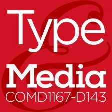 COMD1167 Type & Media, Fall2016