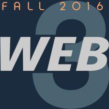 Web 3 – Fall 2016