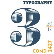 COMD 2427   Typographic Design lll, Spring 2017