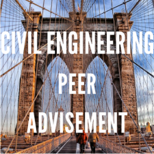 Construction Management and Civil Engineering Peer advisement