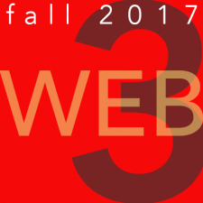Web 3 – Fall 2017