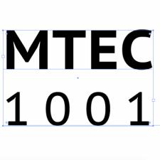 MTEC1001