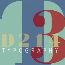 COMD2427 Typographic Design III, D214 Spring2018
