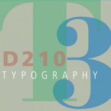 COMD 2427 Typographic Design III D210 Spring 18