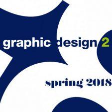 Graphic Design 2 COMD 1200 Spring 2018 Childers