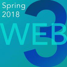 Web 3 – Spring 2018