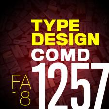 COMD 1257_Typographic Design D194, FA18