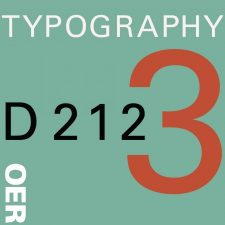 COMD 2427 Typographic Design III D212 Fall18