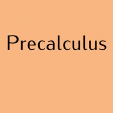 MAT 1375 Precalculus – Ghezzi – Spring 2019