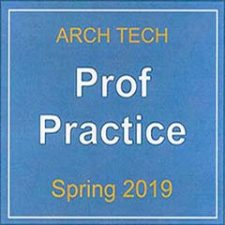 ARCH 4861 Professional Practice 2019 Spring Mishara