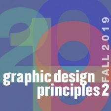 Graphic Design Principles 2 comd1200 D150 F19