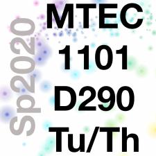 MTEC1101-D290 Emerging Media, Sp2020