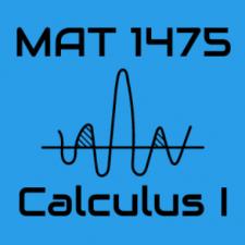 MAT1475 Calculus Cahen, SP2020