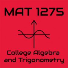 Math MAT1275CO,Sp20