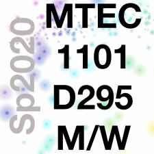 MTEC1101-D295 Emerging Media, Sp2020