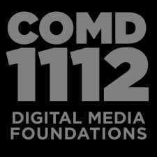 COMD1112 Digital Media Foundations, SP2020