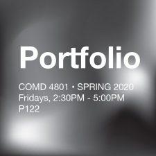 COMD 4801 – Portfolio SP2020