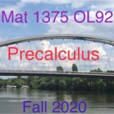 Mat 1375_Precalculus