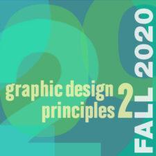 COMD1200 OL56  Graphic Design Principles ll  Fall 2020