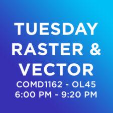 COMD1162-OL45, Raster & Vector, FALL 2020